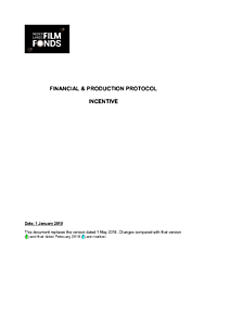 Financial and Production Protocol Production Incentive